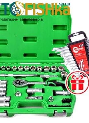 Набор головок, набор ключей, набор инструмента INTERTOOL. 39 о...