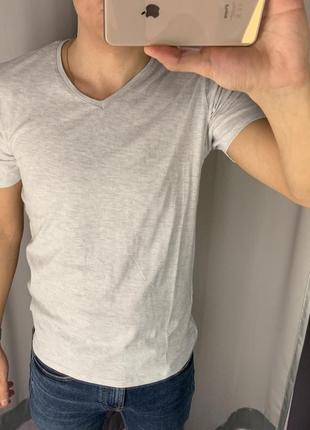 Базовая футболка из хлопка smog есть размеры
