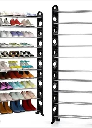 Полка для обуви Shoe rack (10 полок, 30 пар) 8060 (6)