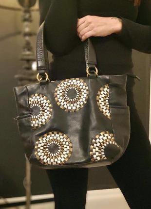 Jane shilton. сумка из натуральной кожи.