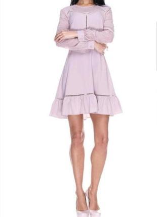 Милое коктейльное платье h&m с вышивкой