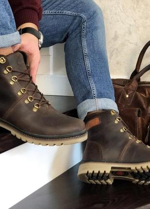 Шикарные зимние мужские ботинки/ сапоги timberland brown 😍 (на...