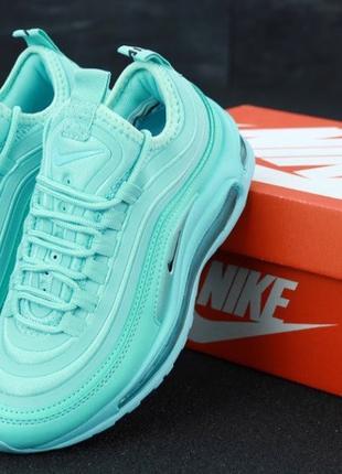 Кроссовки женские голубые Nike Air Max 97 Ultra