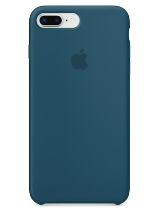 Силиконовый чехол для iPhone 7/8 plus, цвет «космический синий»