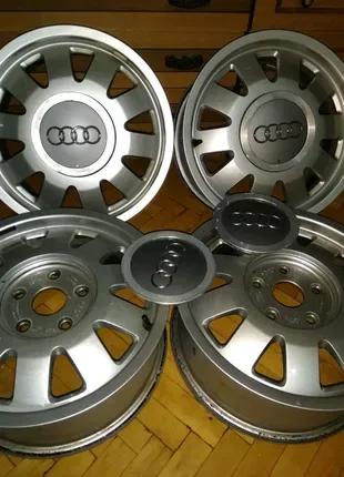 Диски ковка заглушки Audi, vag. R15 5/112. ет45