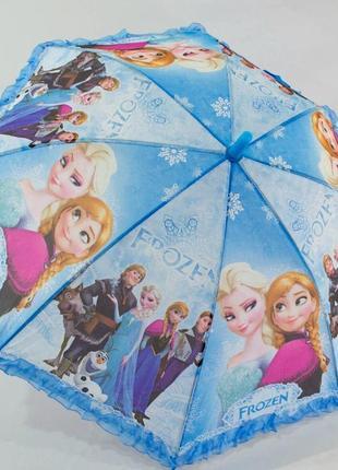 Яркий зонтик эльза ледяное сердце 5-9 лет
