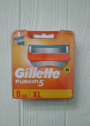 Сменные кассеты для бритья Gillette Fusion 8 шт (Колумбия)