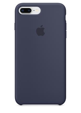 Силиконовый чехол для iPhone 7/8 plus, цвет «темно синий»