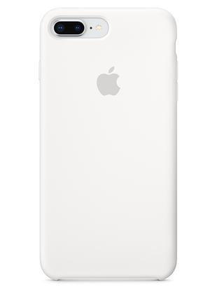 Силиконовый чехол для iPhone 7/8 plus, цвет «белый»