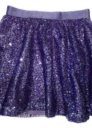 Нарядная юбка паетки gap 10 лет  (т.58-80, дл.40)