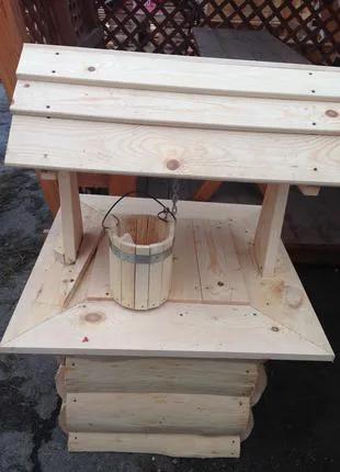 Колодец деревянный декоративный ( Колодязь , Криничка декоративна