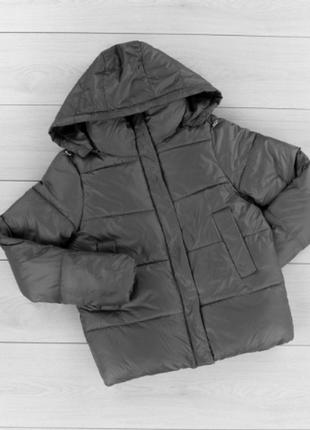 Теплая тёплая куртка курточка зима модная зимняя с капюшоном к...