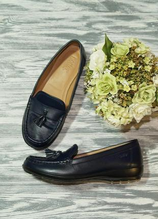 🌿39🌿hotter. кожа. англия. комфортные туфли, мокасины на низком...