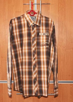 Брендовая рубашка tom tailor.