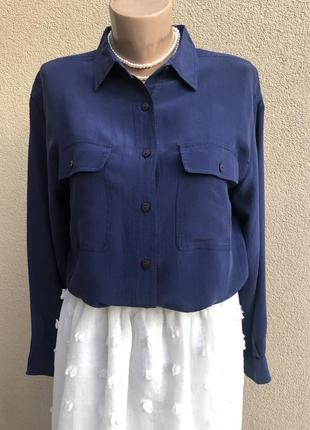 Шелковая рубашка италия