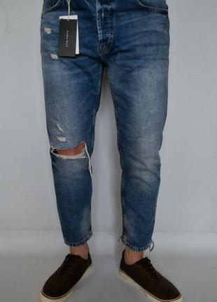 Офигенные джинсы zara man slim