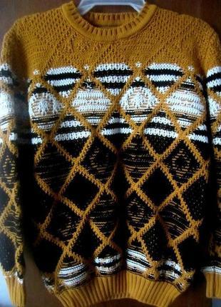 Шерстяной свитер. супер качество. турция