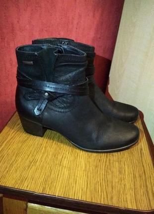 , качественные кожаные демисезонные ботинки