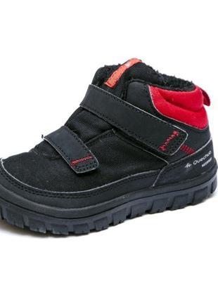 Зимние ботинки quechua sh100 warm. стелька 16, 5 см