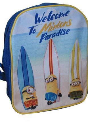 Классный детский рюкзак дошкольный миньены minions c&a - германия