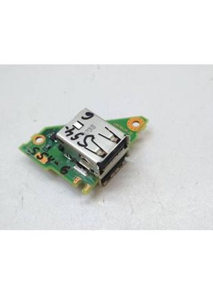 S54-6 Плата модуль 2 USB Fujitsu LifeBook T730 P/N:CP470110-Z2