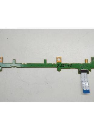 S58-10 Плата модуль кнопок Fujitsu LifeBook E751 P/N:CP501211-X3