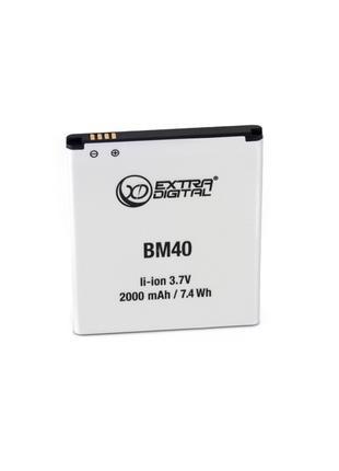 Аккумулятор ExtraDigital для Xiaomi Redmi 1s Dual SIM (BM40) 2...