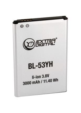 Аккумулятор ExtraDigital для LG G3 (BL-53YH) 3000 mAh