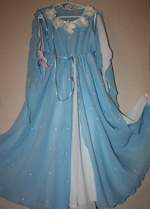 Платье шифоновое очень красивое для танцев,или как костюм на к...