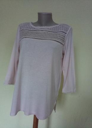 Красивая базовая трикотажная блузочка