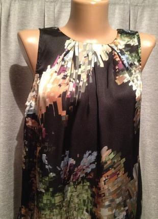 Оригинальная блузочка с принтом.278
