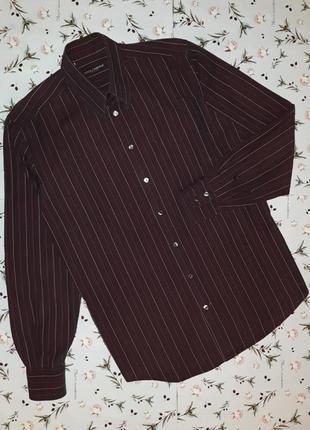 🎁1+1=3 шикарная темная мужская приталенная рубашка dolce&gabba...
