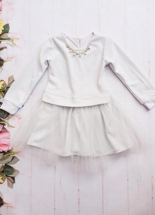 Платье детское, нарядное.