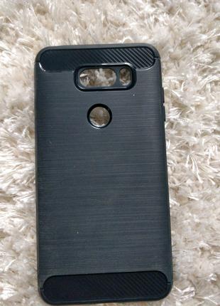 Чехол для смартфона LG v30, темно-синий