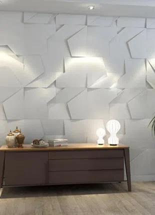 Дизайн интерьера. 3d панели монтаж на стену. @3d_paneli_montazh_k