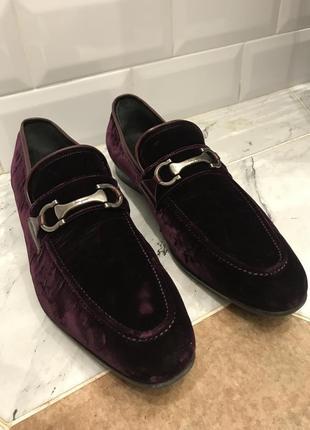Ferragamo итальянские мужские туфли (оригинал!)