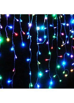 Гирлянда-Штора светодиодная 100 лам, провод 3 м, дл веток 45 см