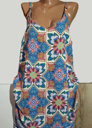 Славное летнее платье сарафан