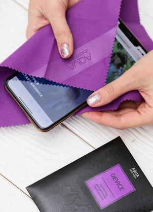Салфетка для экрана смартфона