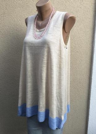 Новая,трикотаж блуза,майка,кофточка,майка,кружево по спинке,лё...