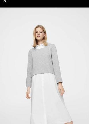 Плаття міді рубашка світшот
