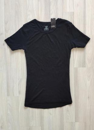 Черная футболка большой размер