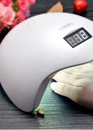 Лампа для маникюра гибрид LED+UV Lamp SUN 5 48W