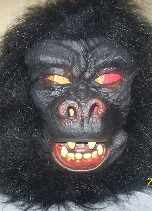 Прикольная маска орангутанга с волосами