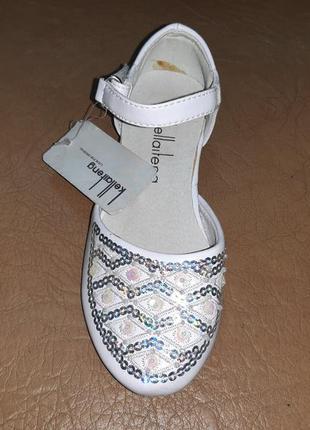 Нарядные туфли 24 р. kellaifeng на девочку