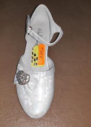 Нарядные туфли 34 р. kellaifeng на девочку