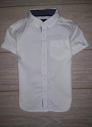Белая рубашка rebel на 2-3 года 2017г
