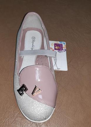 Нарядные туфли 32 р. b&g на девочку