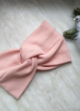 Чалма, повязка на голову, повязка чалма, повязка с узлом, тепл...