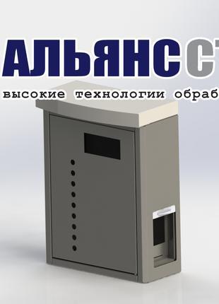 Корпус пульта управления мойки. ООО «Альянс Сталь»